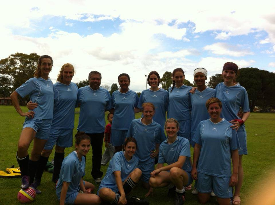 Vic Park Victory Women's Soccer Team