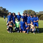 Vic Park men's team pose after away win at BSRC 15-06-2014